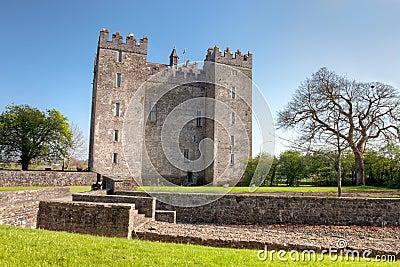 Bunratty Castle in Co. Clare - Ireland.