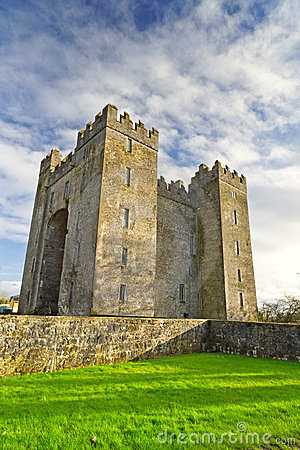 Bunratty castle at Folk Park