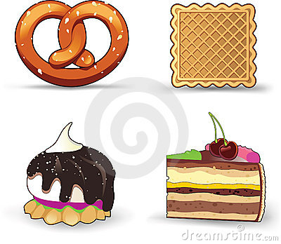 Buns, pastries, and cakes