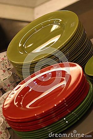 Bunte Platten