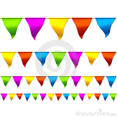 Free Bunting Flags Stock Photos - 19639233