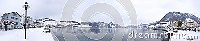 Buochs Lakefront in Winter
