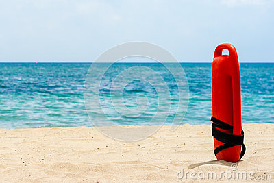 Buoy for a lifeguard