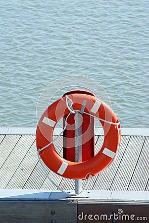 Buoy on sea site