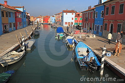 Burano Editorial Photo