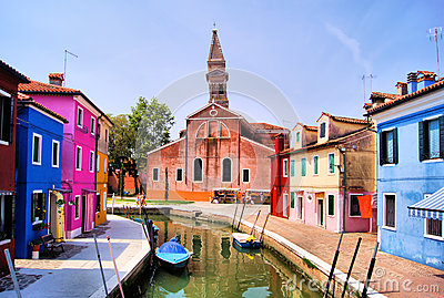 Burano canals