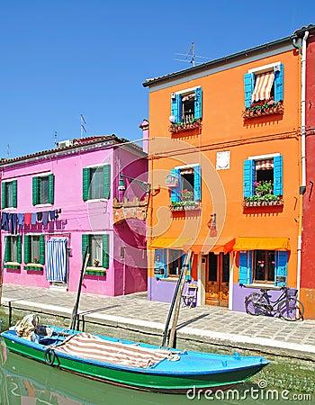 Free Burano Island,Lagoon Of Venice Stock Photo - 22684270