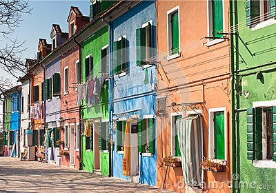 Burano s Colored Houses