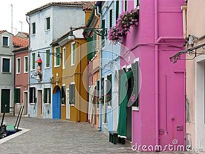 Burano street