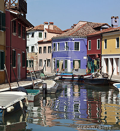 Burano in Venice - Italy