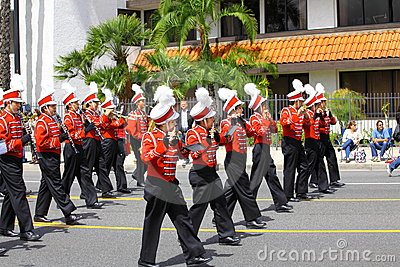 Burbank On Parade Editorial Stock Photo