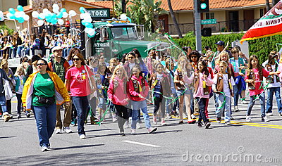 Burbank On Parade Editorial Stock Image