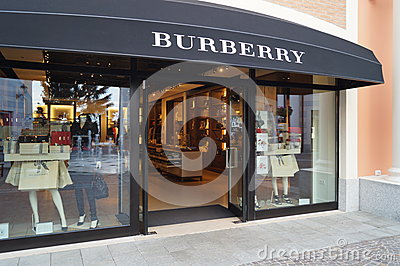 burberry store outlet ed9u  Burberry Flagship Store, Barcelona, Spain Editorial Photo
