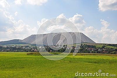 Burden dump Monte Kali near Heringen, Germany