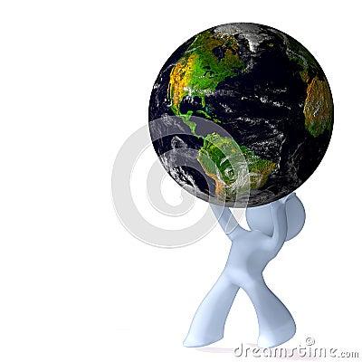 Burden of planet earth
