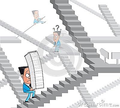 Bureaucracy maze