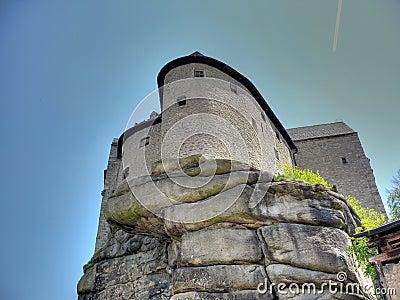 Burg Falkenberg in Bavaria