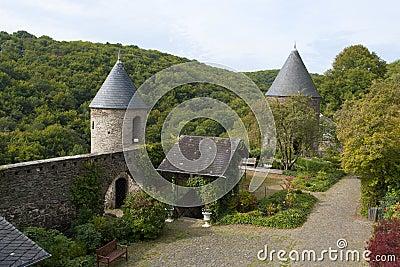 Burg Pyrmont courtyard
