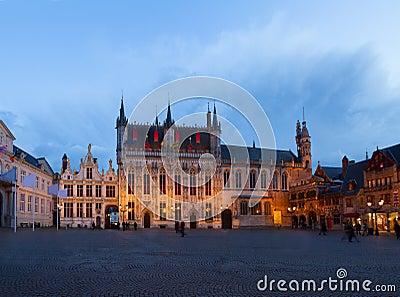 Burg square, Brugge