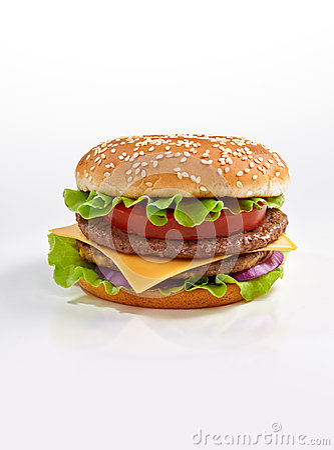Free Burger Stock Image - 26207901