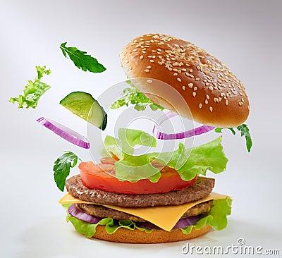 Free Burger Stock Image - 26706651