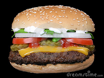 Burger: Burger with cheese