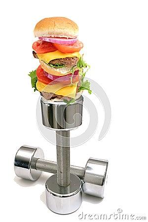 Free Burger Workout Stock Photo - 6753950