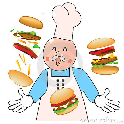 The burgering master cook