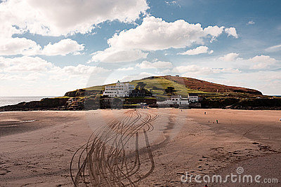 Burgh Island, Bigbury, Devon, UK