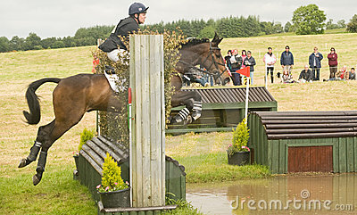 Burgie International Horse Trial 2010. Editorial Stock Image