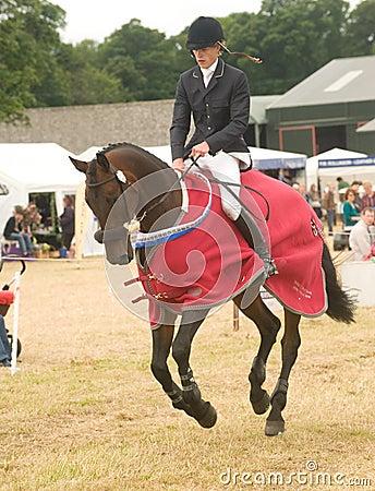 Burgie International Horse Trial 2010. Editorial Image