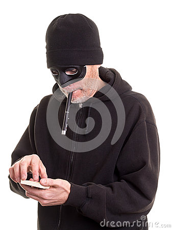 Burglar Counting Money