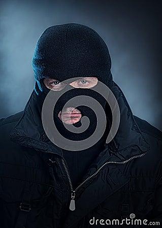 Burglar portrait