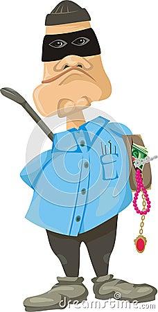 Burglar or thief - criminal offence
