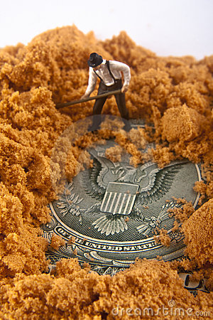 Buried Seal of the United States
