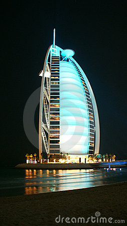 Burj al Arab Editorial Photography