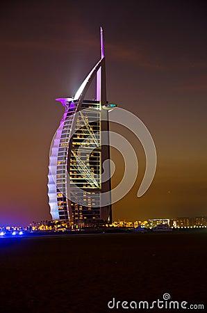 Burj Al Arab Editorial Stock Photo