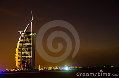 Burj Al Arab Editorial Photo