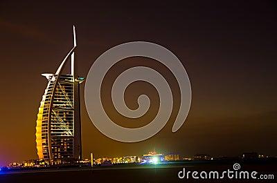 Burj Al Arab Editorial Photo