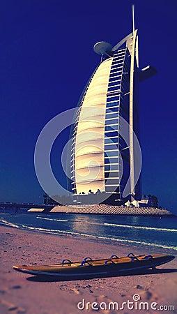 Free Burj Al Arab Royalty Free Stock Photos - 37769758