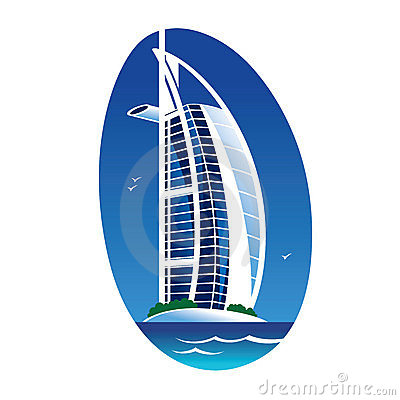 Burj Al Arab Dubai Emirates Editorial Image