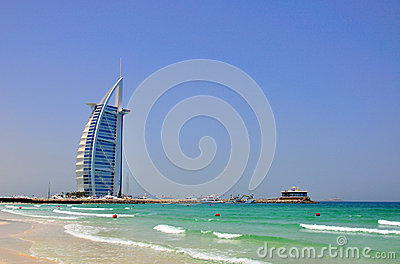 Burj Al Arab, Dubai Editorial Stock Image