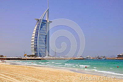 Burj Al Arab Editorial Photography