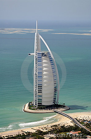 Free Burj Al Arab & The World Royalty Free Stock Images - 3162629