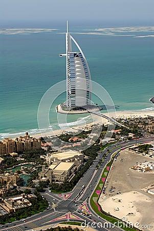 Burj Al Arab & The World