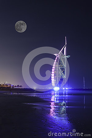 Burj Al Arab Editorial Stock Photo