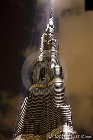 Burj Dubai Editorial Stock Photo