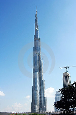 Burj Dubai Editorial Stock Photo