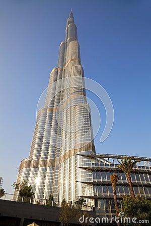 Burj Dubai, Dubai, UAE Editorial Photography