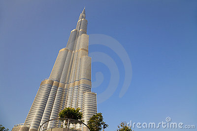Burj Dubai, Dubai, UAE Editorial Stock Image
